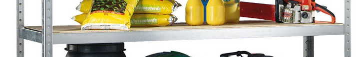 Přídavné police pro regál SpeedRack, 400 kg, 2500x600 mm