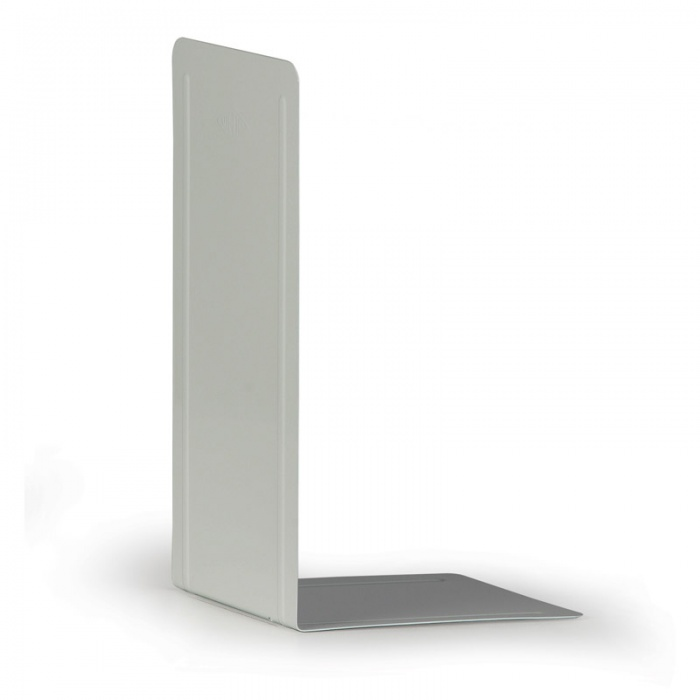 Kovové regálové děliče - vysoké, balení 2 ks, šedé