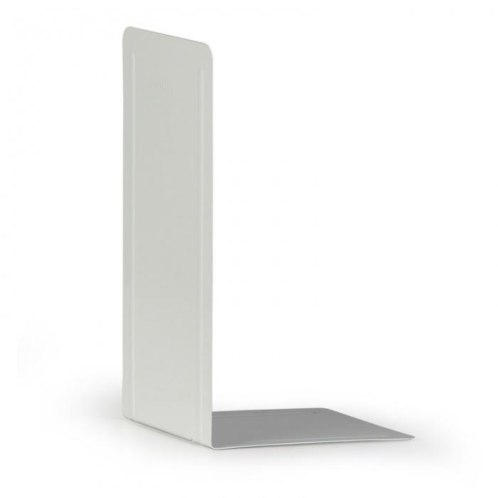 Kovové regálové děliče - vysoké, balení 2 ks, bílé