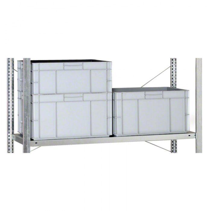 Přídavná police pro regály CLIP, 200 kg, 1500x600 mm