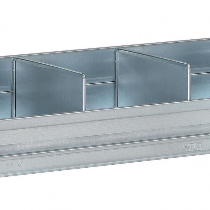 Dělící přepážka pro regály FIX, CLIP, 300 mm