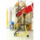 Plošinový žebřík - plošina 1,12 m, vodovzdroná překližka